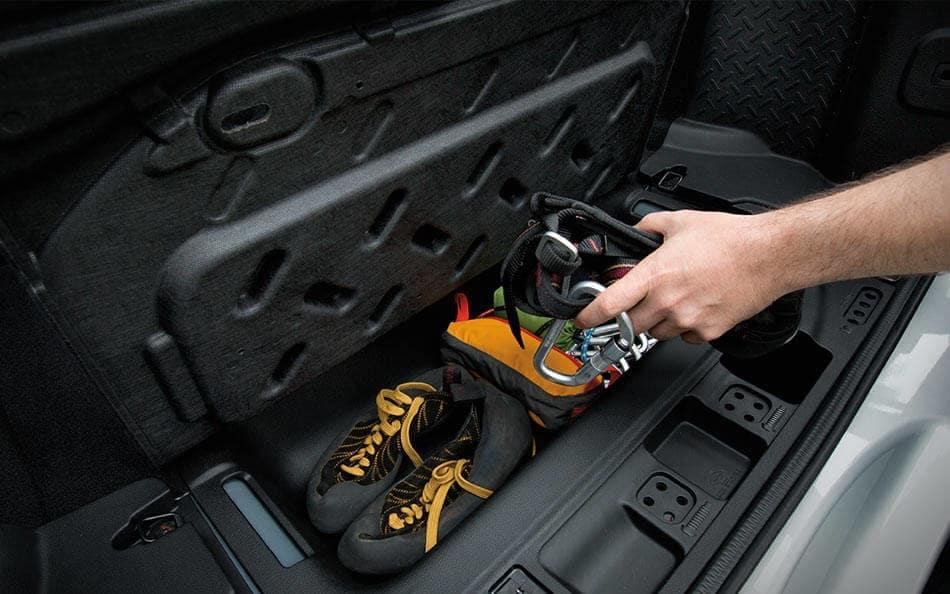 2016 Jeep Wrangler storage