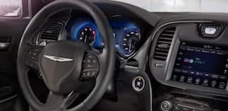 2018 Chrysler 300 dashboard