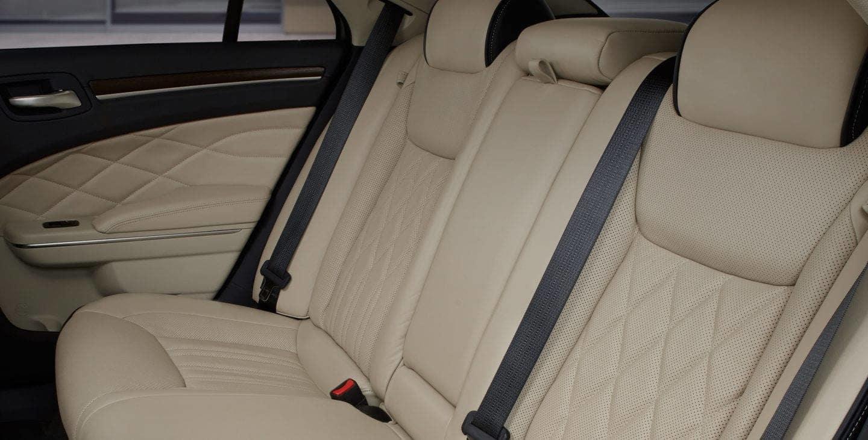 interior of the 2017 Chrysler 300