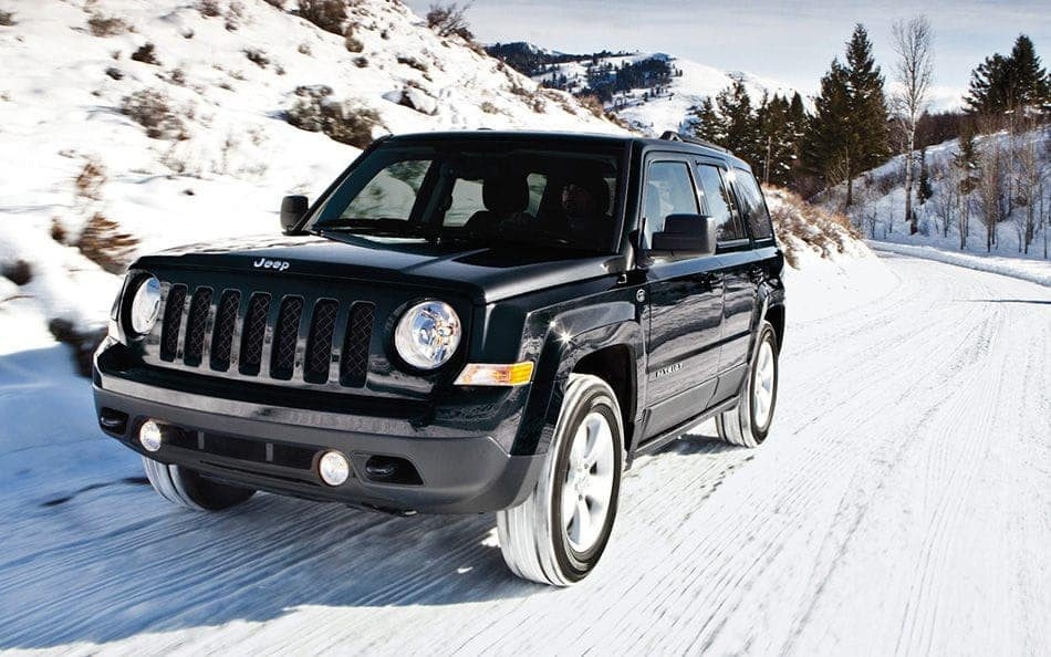 2016 Jeep Patriot around Richmond