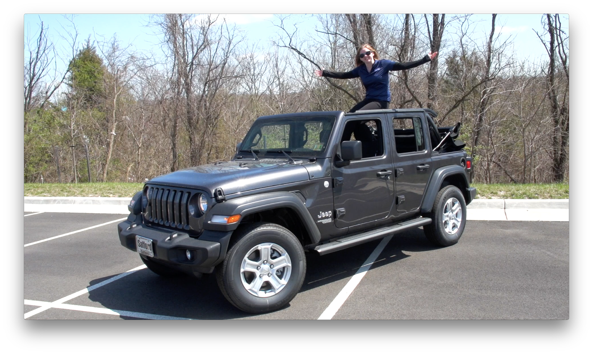 Wrangler JL Soft Top Removal