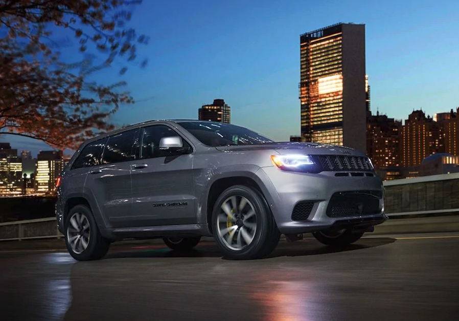2018 Jeep Grand Cherokee Trackhawk available in Fredericksburg