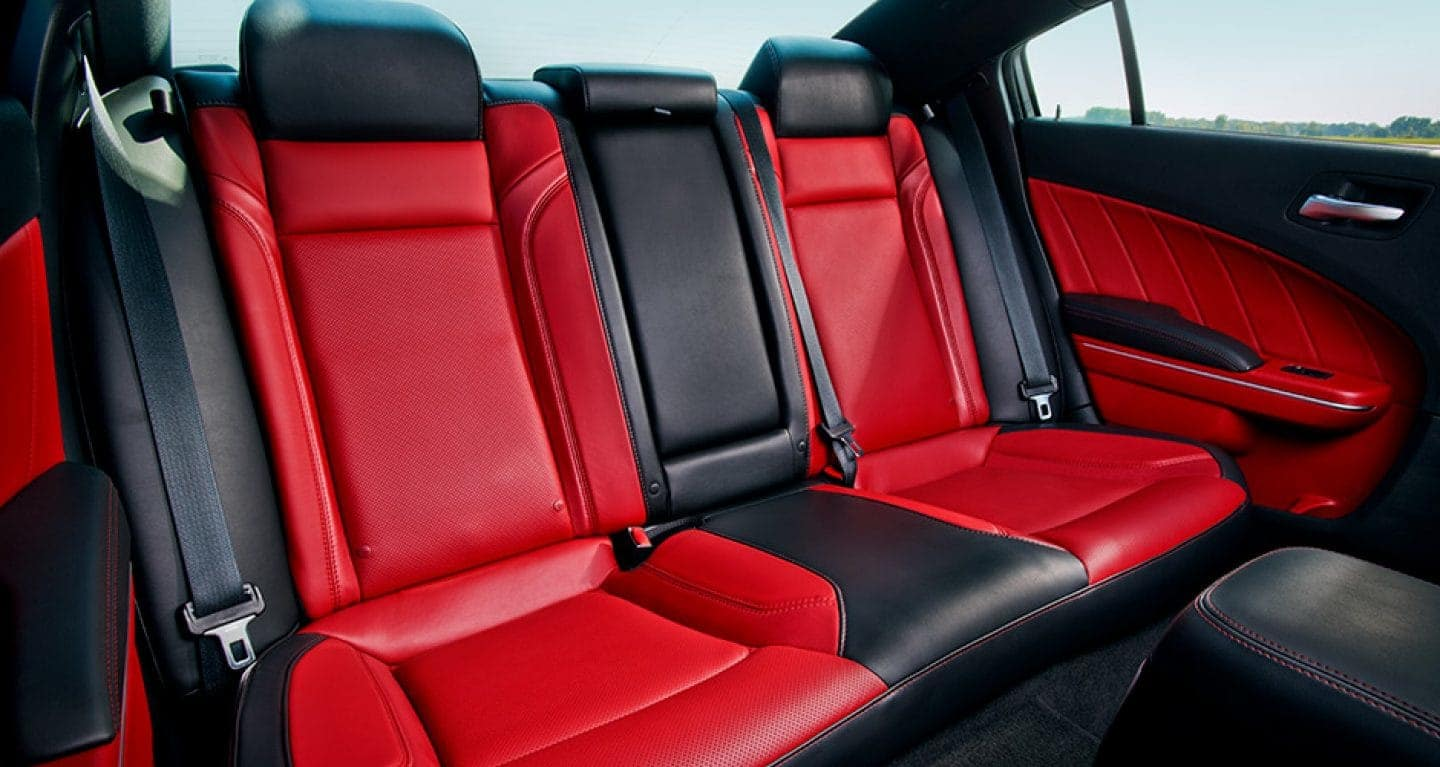 interior of the 2017 Dodge Charger