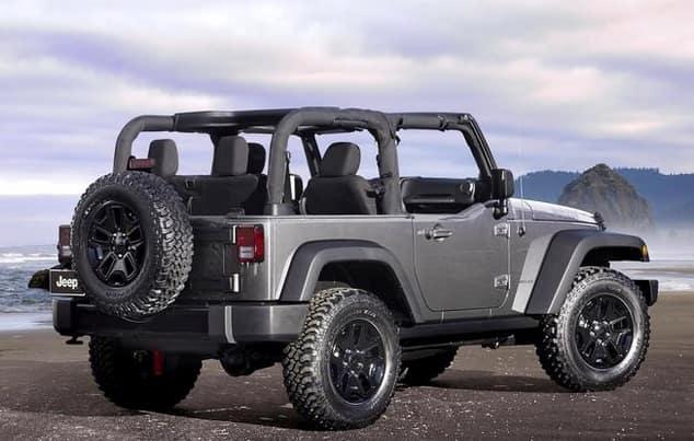 2015 Jeep Wrangler exterior