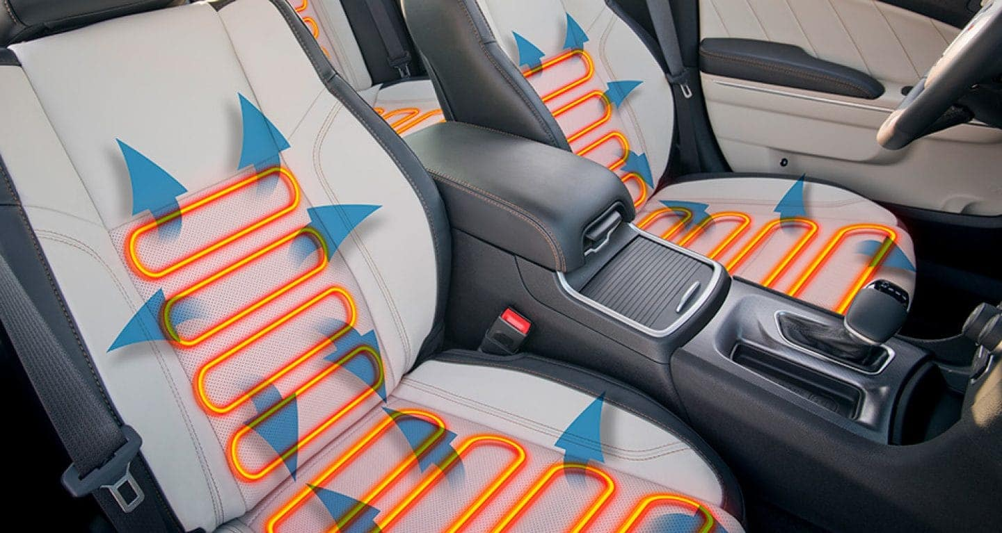 2017 Dodge Charger heated seats