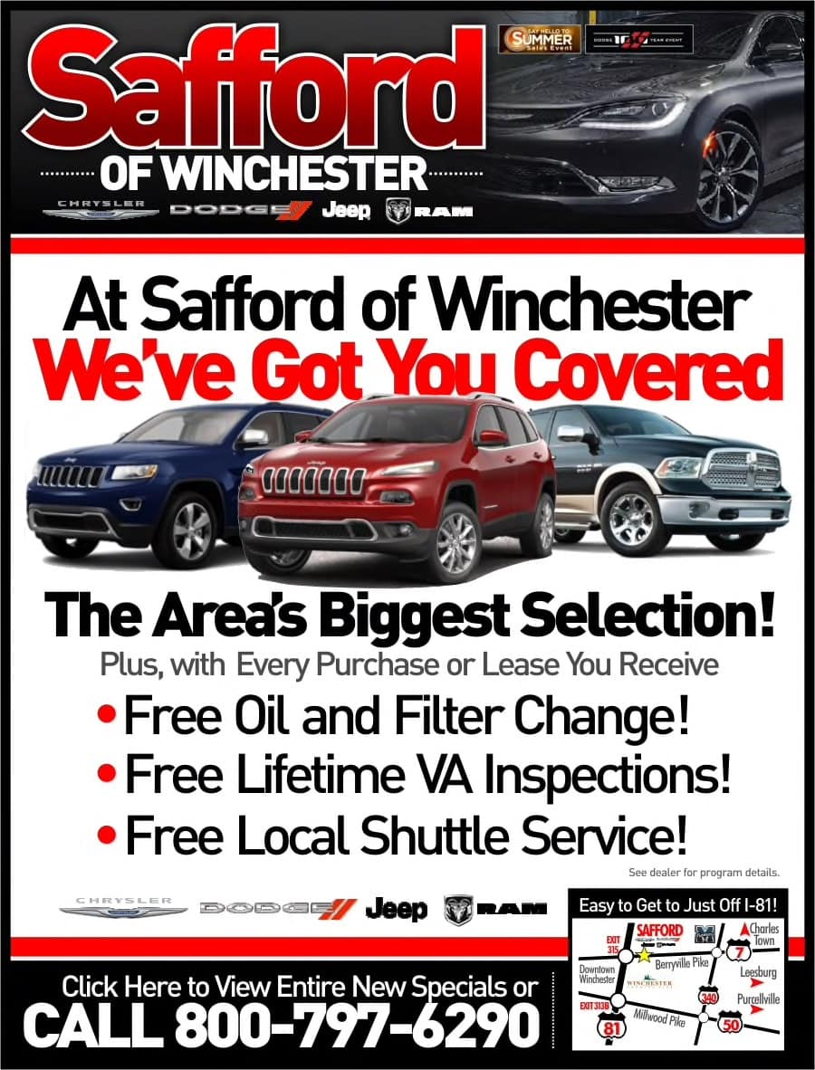 The Benchmark Of What A Dealership Should Be. Safford Is Excited To Come To  Winchester! With Three Other Chrysler Jeep Dodge RAM Dealerships, ...