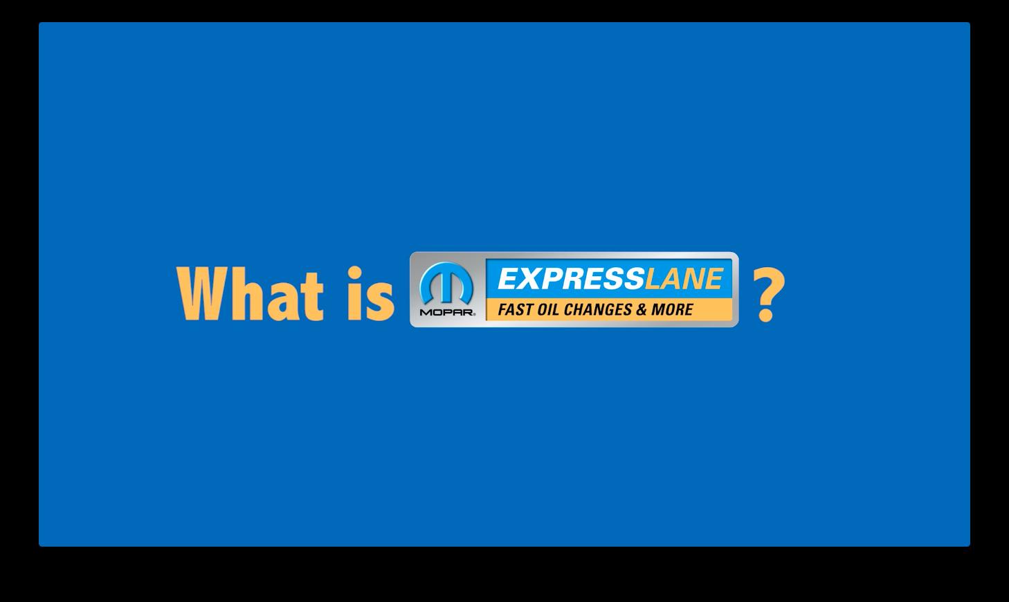 Express Lane Service