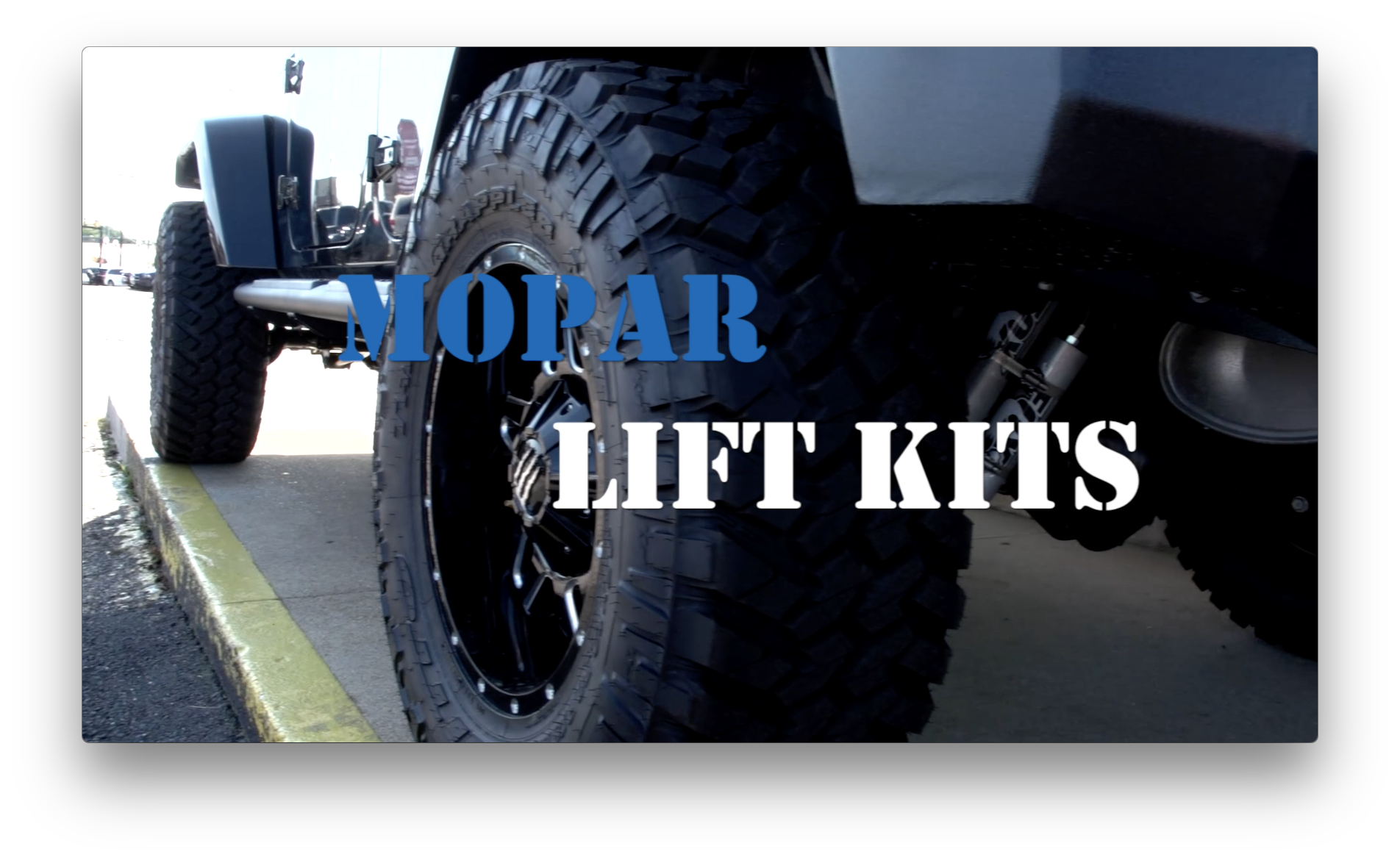 Mopar Lift Kits