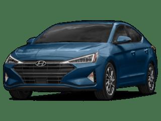 2019 blue Hyundai Elantra