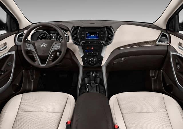 2018 Hyundai Santa Fe interior available in Springfield VA