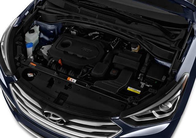 2018 Hyundai Santa Fe Performance Engine