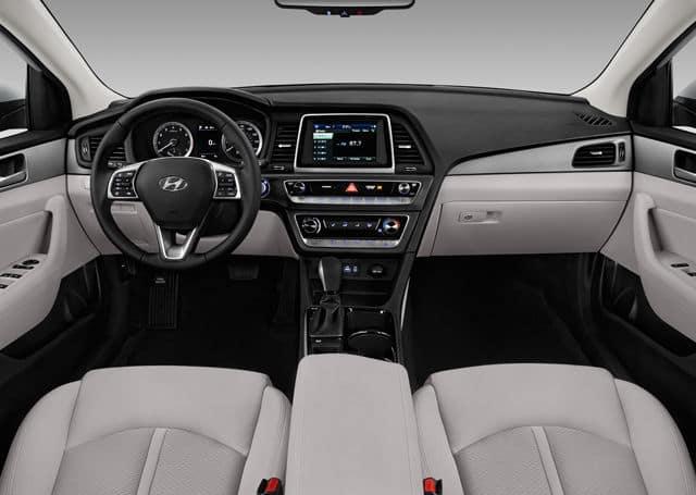 2018 Hyundai Sonata interior available in Springfield VA