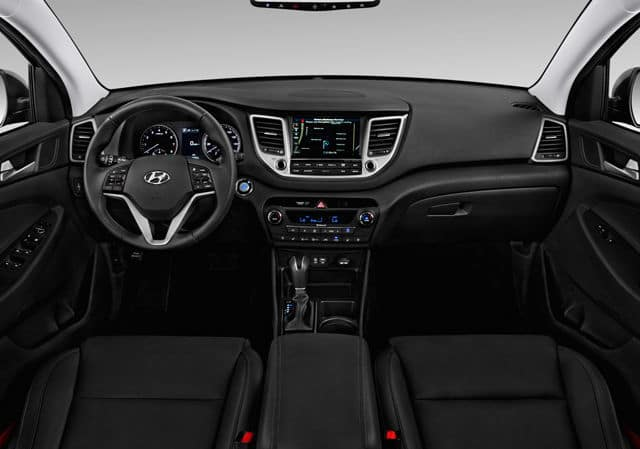 2018 Hyundai Tucson interior available in Springfield VA