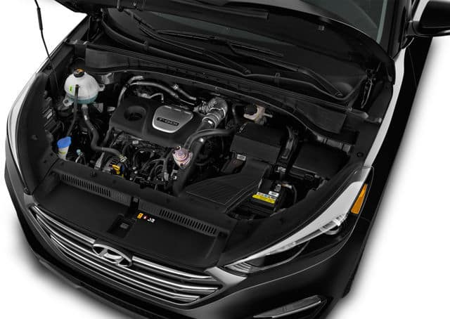2018 Hyundai Tucson Performance Engine