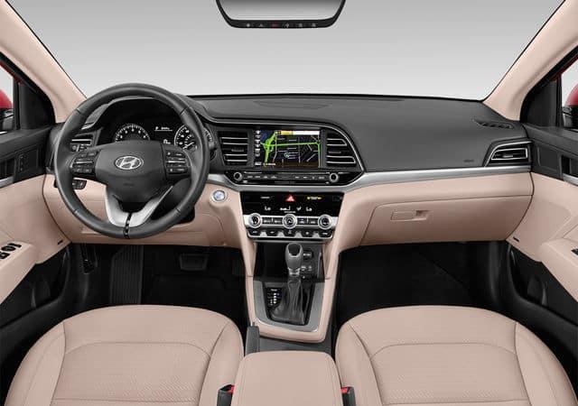 2019 Hyundai Elantra interior available in Springfield VA