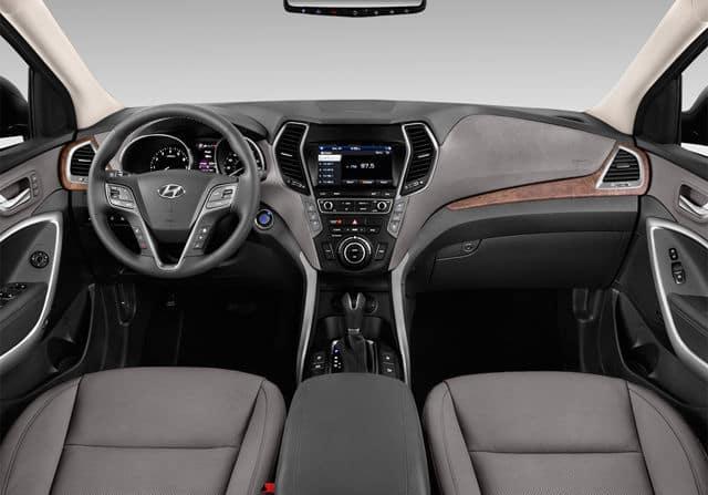 2019 Hyundai Santa Fe interior available in Springfield VA