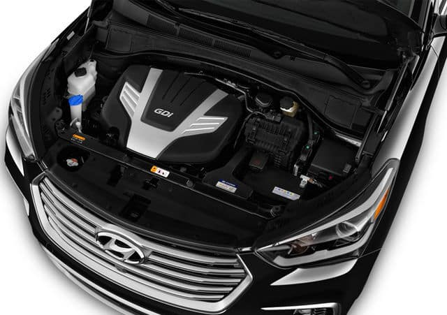 2019 Hyundai Santa Fe Performance Engine