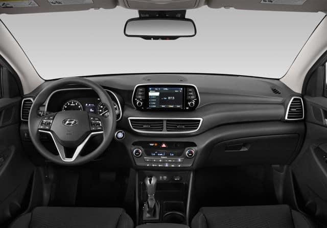 2019 Hyundai Tucson interior available in Springfield VA