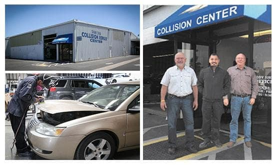 Images of the collision center