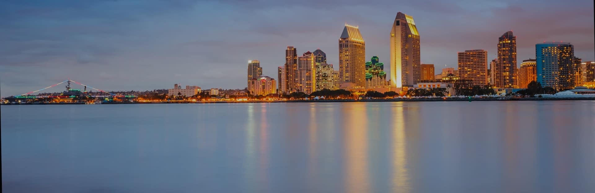 View of San Diego skyline