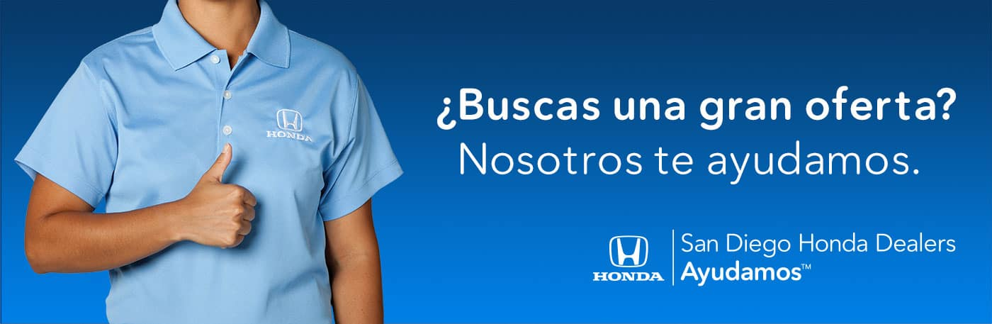 SoCal Honda Dealers Current Offers Spanish Banner