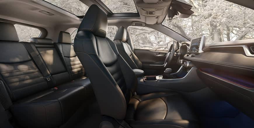 RAV4 Hybrid Interior