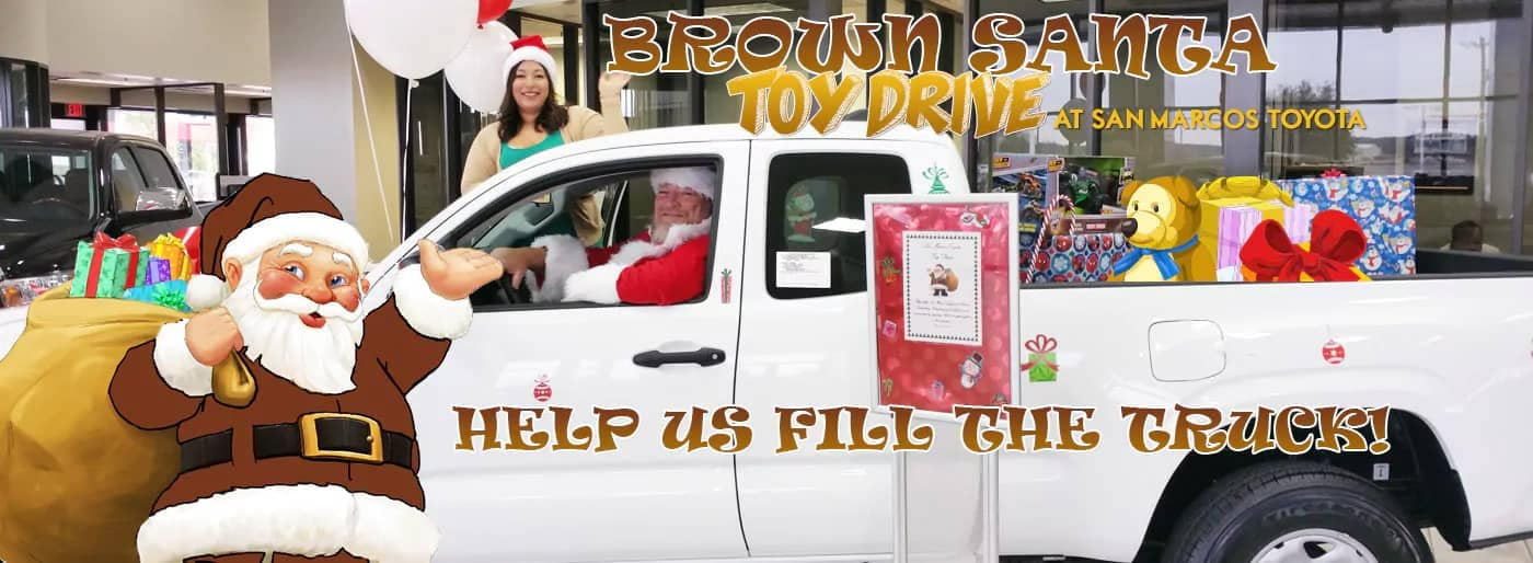Brown-Santa-Toy-Drive