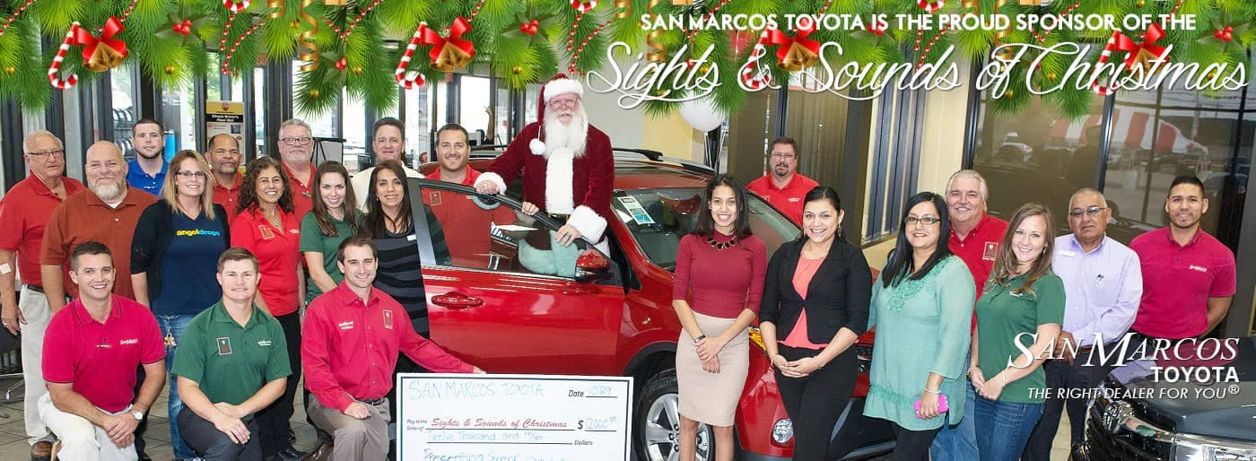 Our Community | Giving Back | San Marcos Toyota serving Canyon Lake