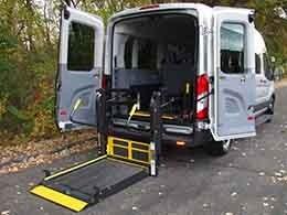 Full Sized Transit Van Small