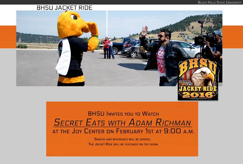 BHSU Jacket Ride