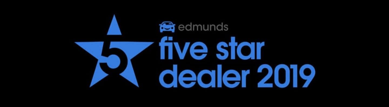 Edmunds 5 star dealer 2019