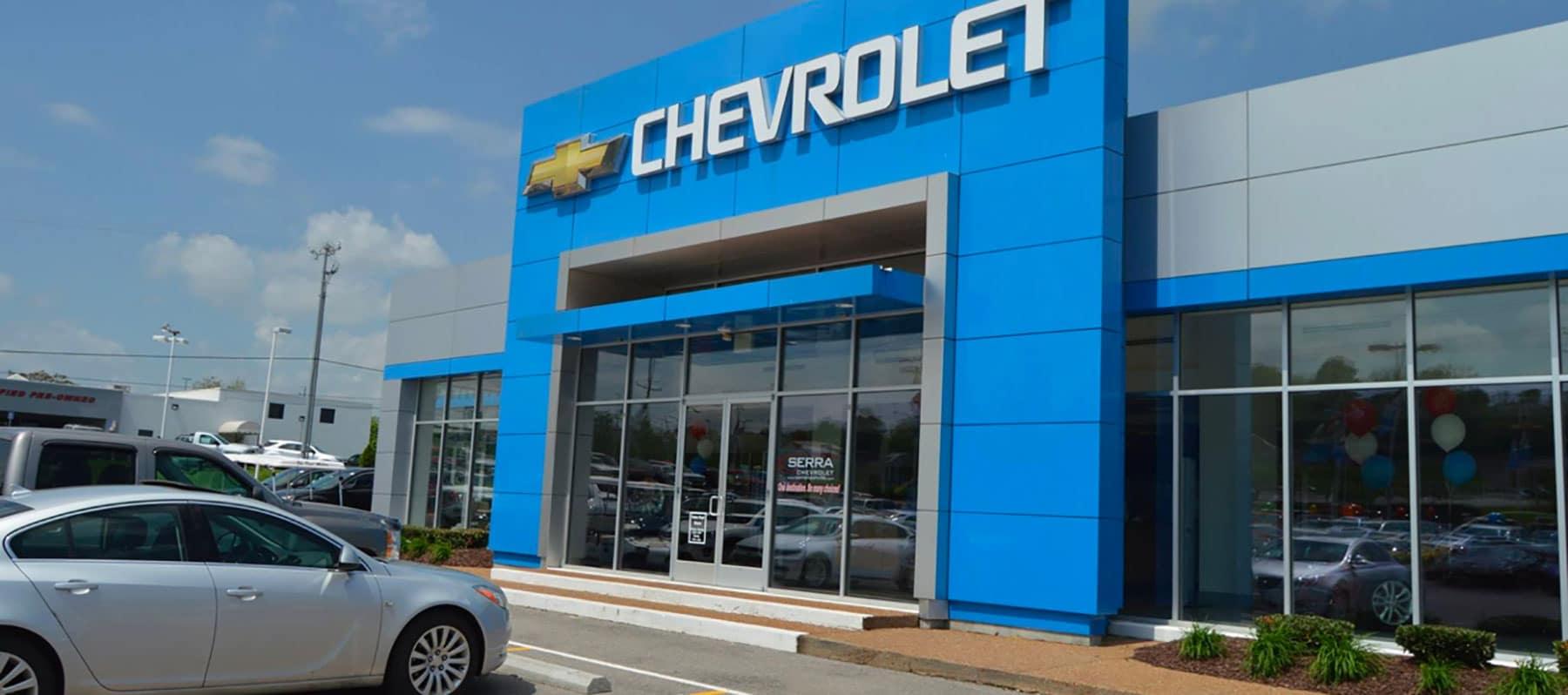 An exterior shot of  dealership