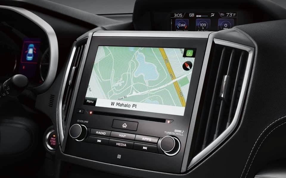 2020 Subaru Impreza Map
