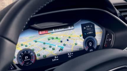 Audi digital dashboard