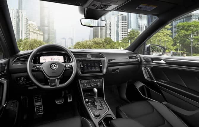 volkswagen technology interior