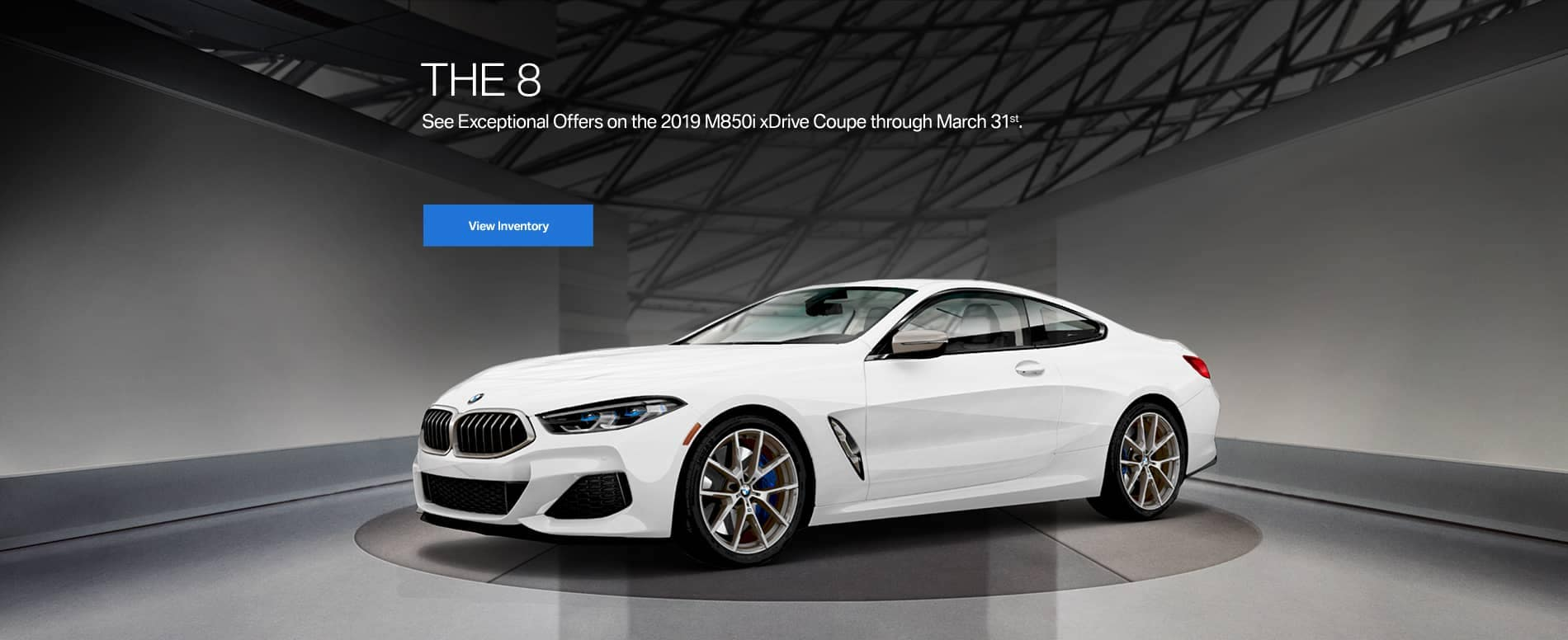banner for BMW M850i xDrive