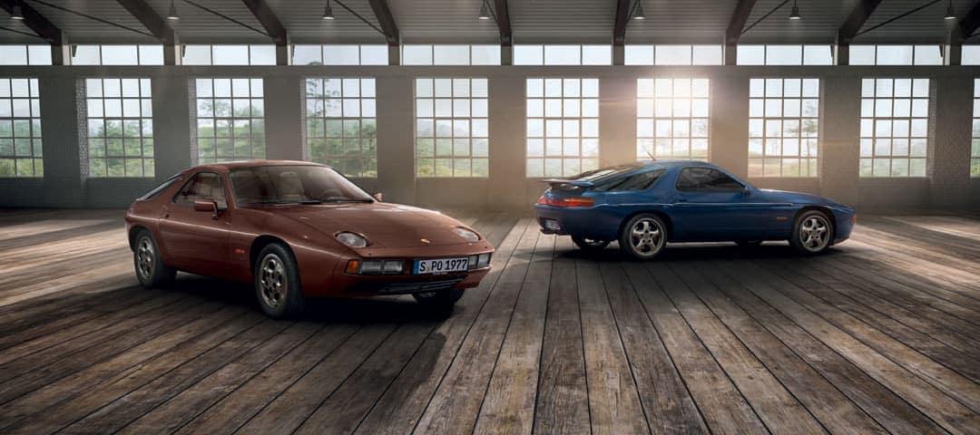 Porsche Classic two cars