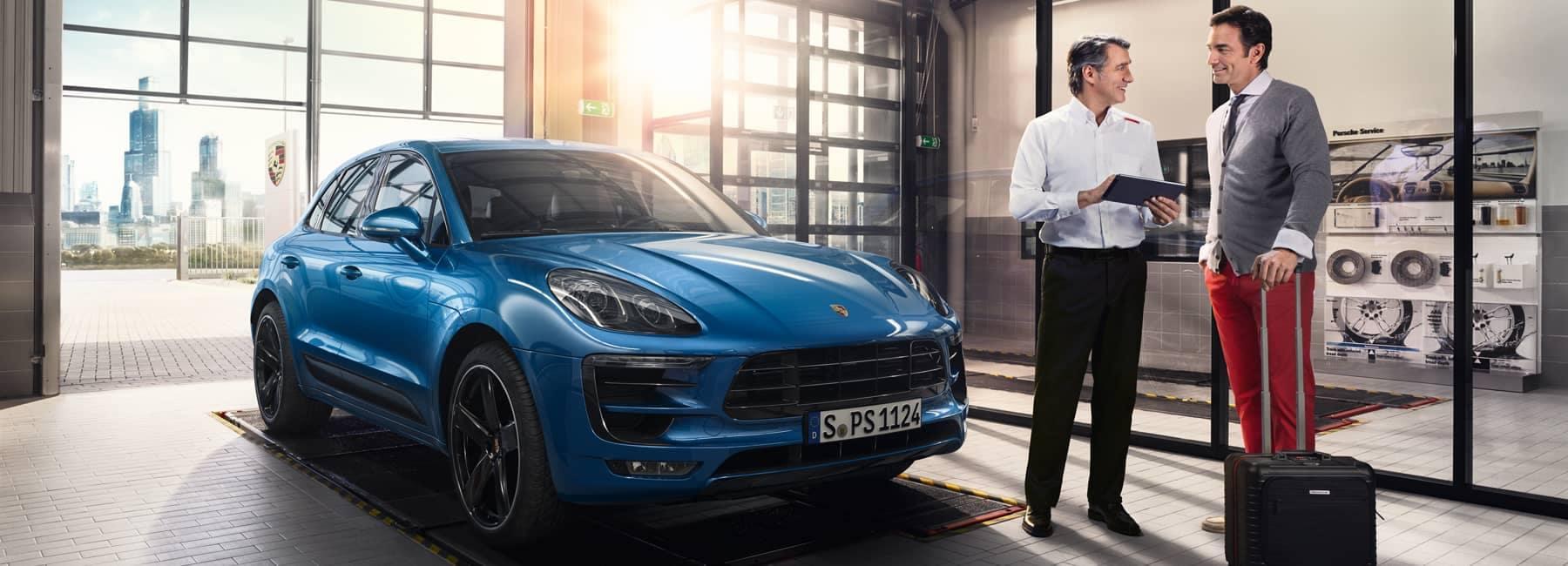 Porsche Dialog