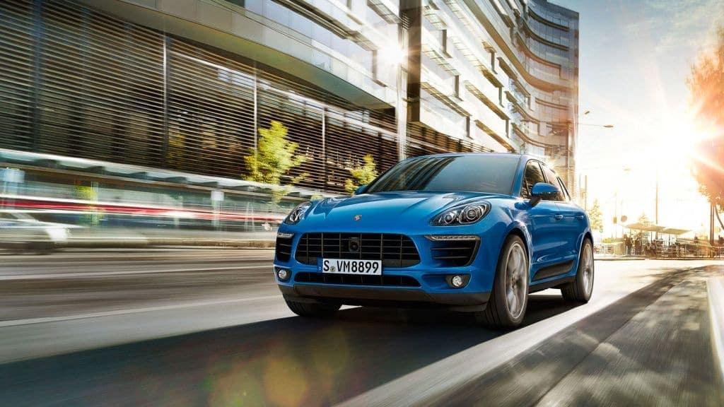 2018 Porsche Macan Blue
