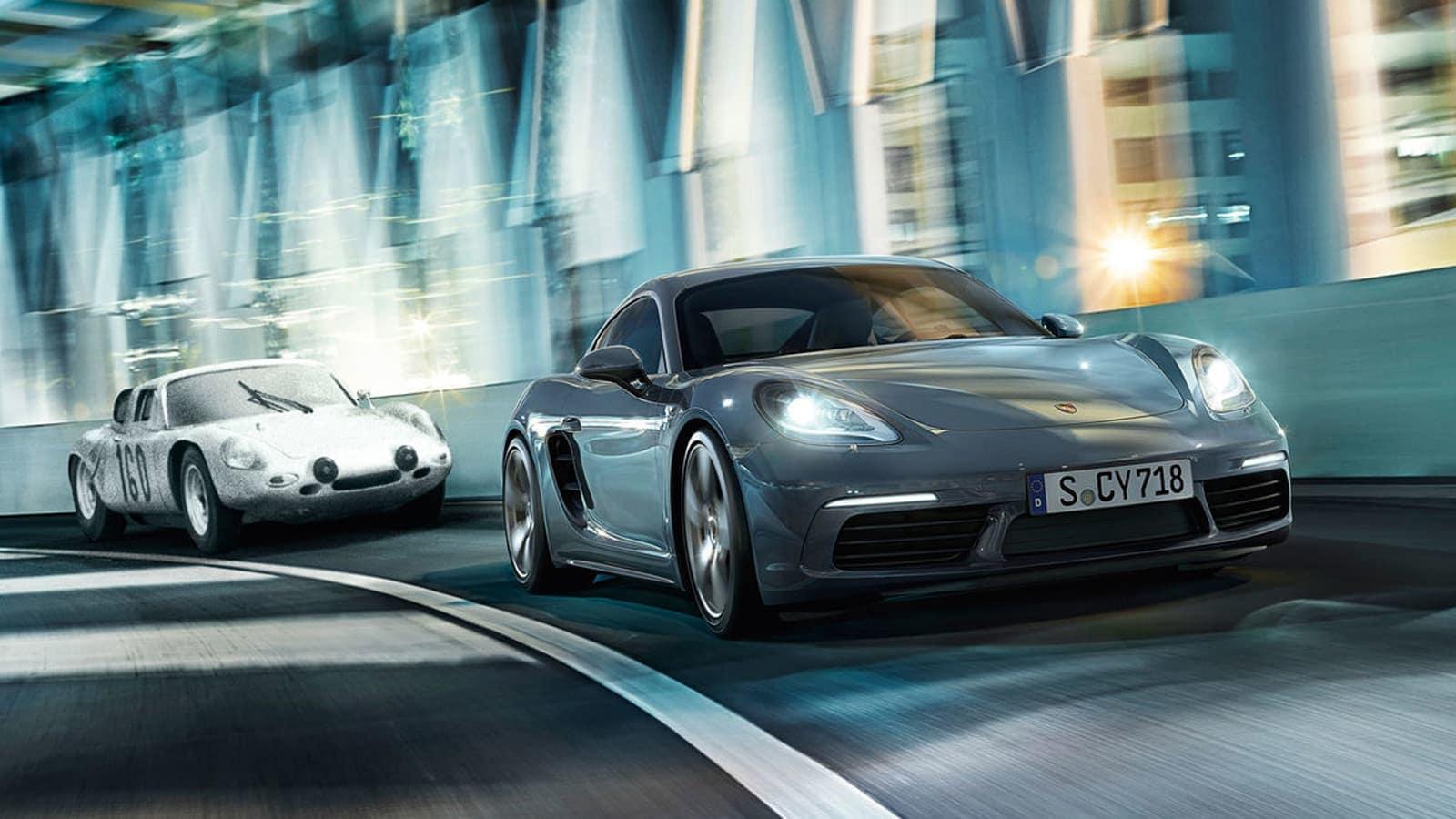 Porsche lights