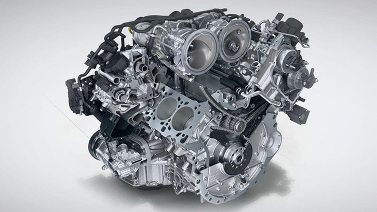 Panamera Engines