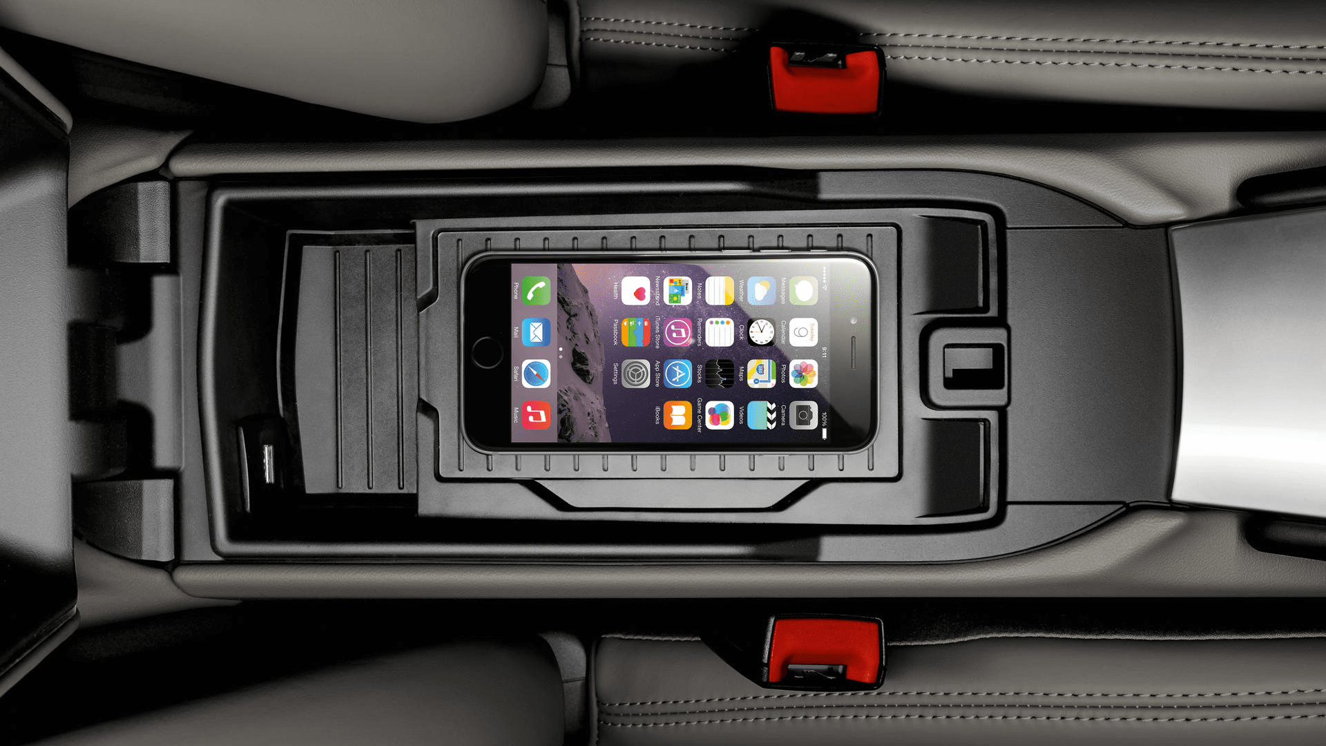 Porsche 911 iphone interior