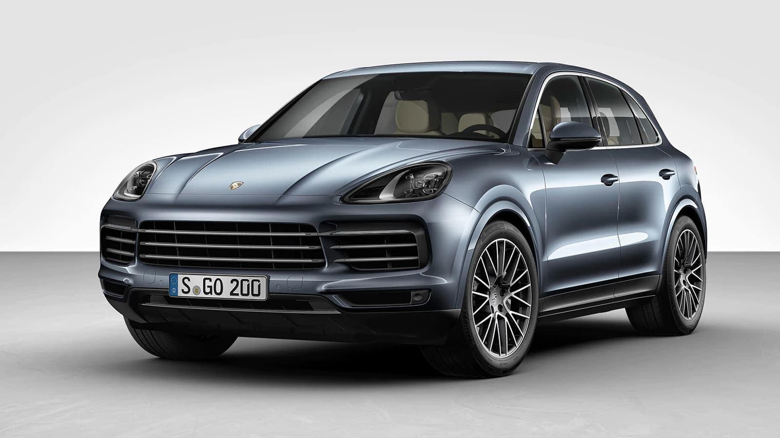 2021 Porsche Cayenne Design