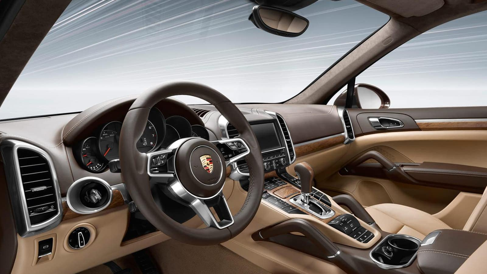 Porsche Cayenne Accommodating Interior