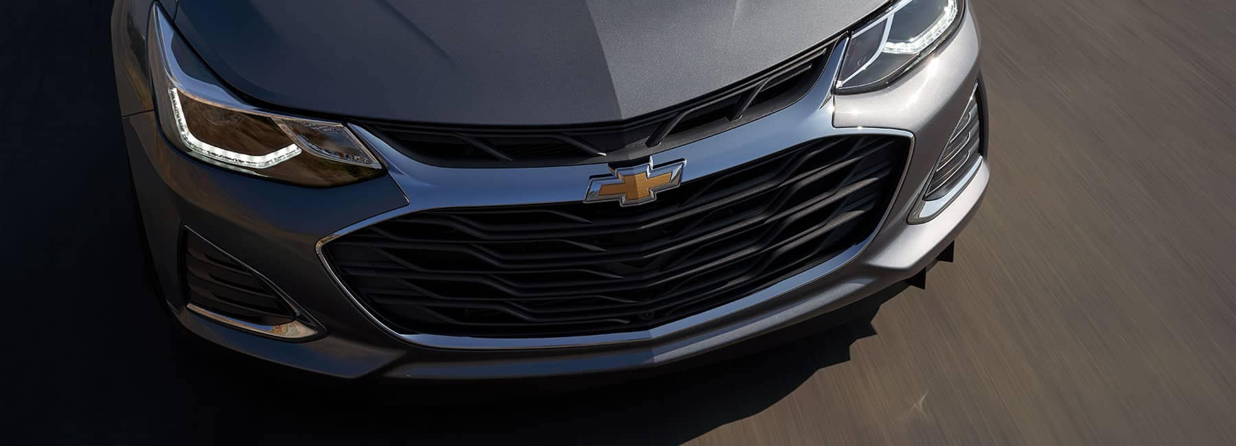 Gray 2019 Chevrolet Cruz Exterior Nose