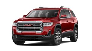 2021 GMC Acadia red