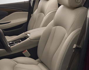 THOUGHTFULLY DESIGNED FRONT SEATS