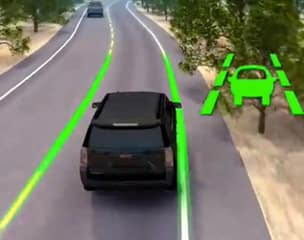 Available Lane Keep Assist with Lane Departure Warning