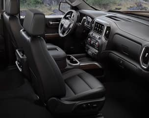 Class-Leading Crew Cab Front Head and Leg Room (max)