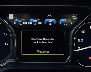 8 DIGITAL DRIVER INFORMATION CENTER